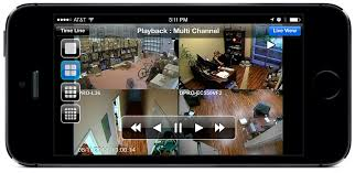 mobile viewing of cctv